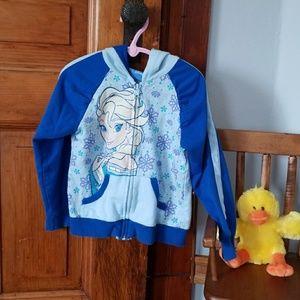 Two Tone Disney Elsa Sweatshirt